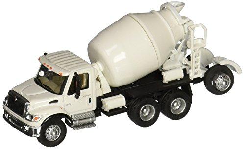 Walthers SceneMaster International 7600 3-Axle Cement Mixer White
