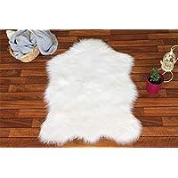 Tappeto Akrilik Kuzu Post Beyaz (75x100 cm)