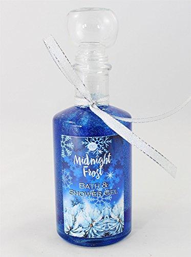 MIDNIGHT FROST Duschgel in Apothekerflasche mit Glitter - Vanille Cranberry
