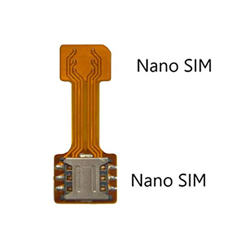 apter Nano auf Nano Sim Adapter Sim-Karte Verlängerungskabel für Samsung Huawei Xiaomi HTC (Dual-sim-karte Iphone)