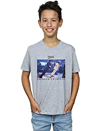 Absolute Cult Michael Jackson Niños Smooth Criminal Lean Camiseta
