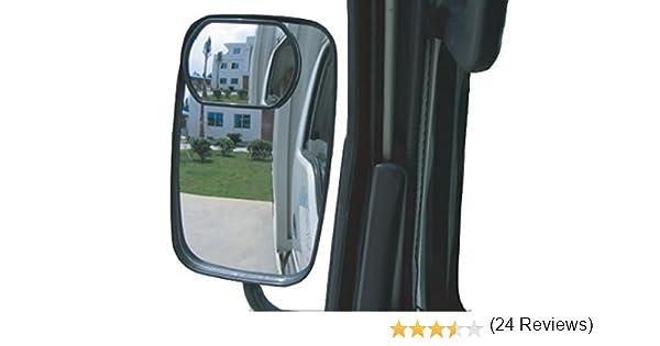 Meipro Specchio Di Riflessione Del Camion Del Meipro Vetro Di Hd Convex Largo Angolo Dello Specchio Posteriore Dello Specchio Di Retrovisione Per Tutto Il Camion Ed Il Bus Pacchetto Di 2pcs