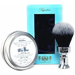 Wild Seas Luxury Shaving Soap and Calliditas Shaving Brush