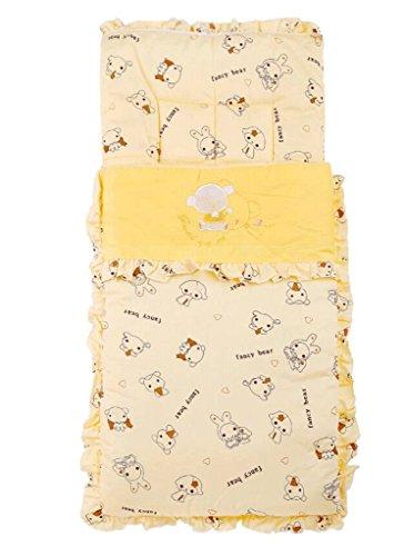 hyl Sacs de couchage multifonctionnels pour bébés Sacs de couchage pour bébés Sacs de couchage pour bébés ( Couleur : Orange , taille : 45*85cm )