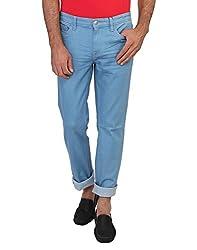 Calvin Klein Mens Slim Fit Jeans (701549034265_4ASA703_38W x 34L_Blue)
