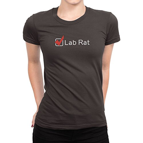 Planet Nerd - Lab Rat - Damen T-Shirt Grau