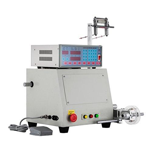 BananaB Spulenwickelmaschine 400W Automatische Spule Wickler Wickelmaschine CNC Coil Winder 6000 Circles/Min Winding Machine für 0.03-1.2MM (400W) -