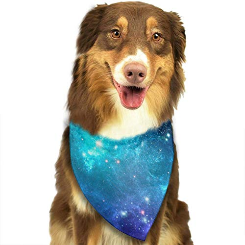 Kostüm Party Flyer - nxnx Dog Bandana Galaxy Nebula Space Pet Scarf Triangle Bibs Kerchief Set Pet Costume Accessories Decoration for Small Medium Large Dogs Cats Pets
