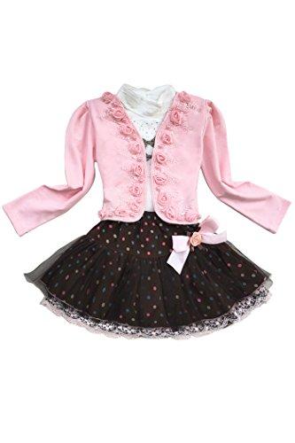 yming-filles-enfants-dot-bowknot-manches-longues-manteau-robes-de-mariee-cardigan-shirt-jupe