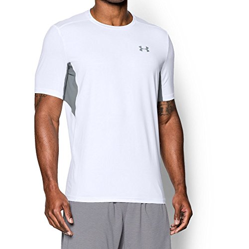 Under Armour Herren Ua Coolswitch Run S/S T-Shirt White