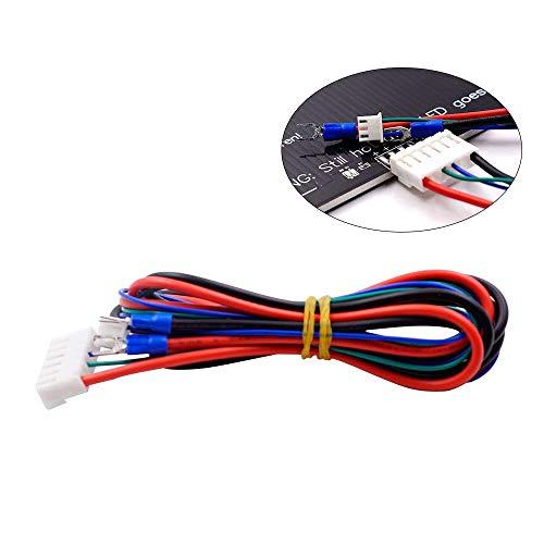 Impresora 3D Anet A8 A6 Piezas, FYSETC Cable de cama calefactable para