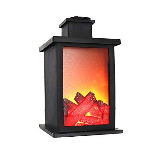 eamqrkt 1 Pieza de lámpara de luz LED con Efecto de Quemado...