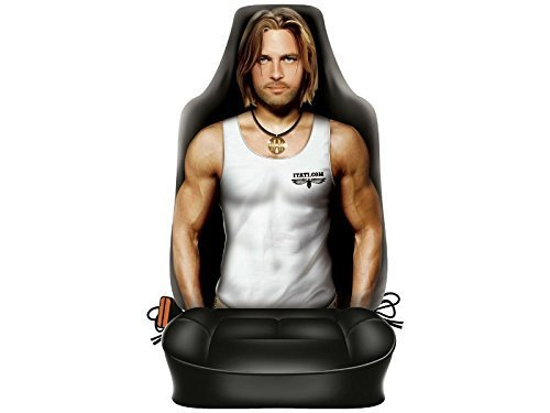 Autositzbezug mit sexy Boy
