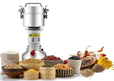 300g Electric Cereal Grain Grinder Mill Pulverizer Powder Machine Seed Grinder for Spice Herb Coffee