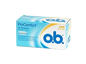 OB–ProComfort Standard Digital Tampons without Applicator, pack of 32