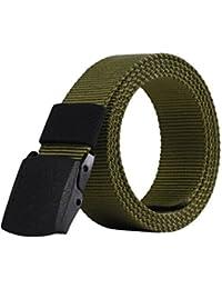 d846e88298d928 SBORT Gürtel Casual Ideal für Jeans Männer Leinwand militärische Bewegung