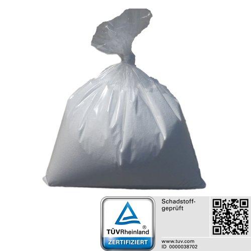 QSack Sitzsack Füllung Toxproof Mikroperlen Nachfüllpack, 18 Liter Nachfüllpackung,