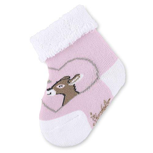 Sterntaler Baby-Socken Waldis Rosie, Alter: 0-4 Monate, Größe: 14, Pink (Rosa)