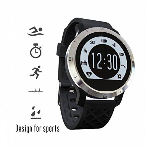 Fitness Tracker Smart Watch Phone Handy Uhr,Fern Fotografieren Sport watch mit Musik Player und Schrittzähler Fitness Tracker kompatibel mit iPhone und Samsung Android Geräte usw