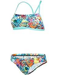 Speedo Glow Ball 2Piece Crossback Bikini, filles