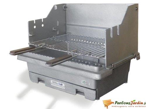 Barbecue à charbon de bois en fonte Carbonne