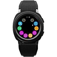Docooler Microwear L2 Reloj Deportivo Pulsera Inteligente SMA Band Fitness Tracker Pantalla IPS Podómetro Calorías Sleep Monitor para iPhone X Plus S6 S7 Plus Smartphones iOS Dispositivos Android