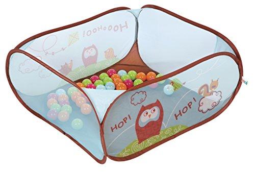 Ludi 2836 - Parque de juego con bolas de colores