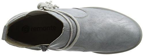 Remonte R9393, Bottes Chelsea Femme Gris (Argento/argento / 90)