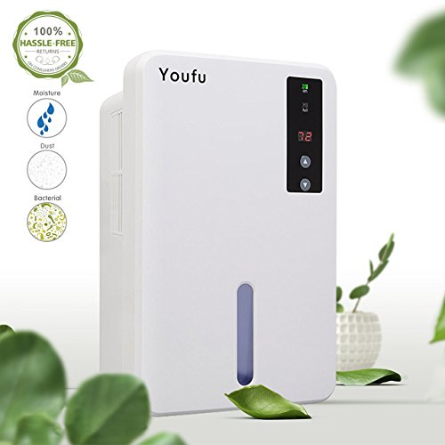 1500ml Dehumidifier for Home and...