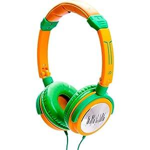 iDance Crazy 401 Kopfhörer mit 44mm Treiber grün/orange