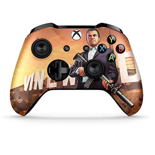 Xbox One S Wireless Controller Pro Konsole - Neueste Xbox Controller Blue-Tooth mit weichem Griff und exklusiver individueller Version Skin (Bluetooth-xbox-controller)