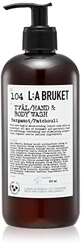 L:a Bruket No.104 Flüssigseife, Bergamot / Patchouli, 1er Pack (1 x 450 ml)