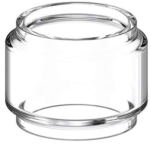 Waipawama Ersatzglas kompatibel für Eleaf Ello T + Duro + Vate (Bubble Glas)