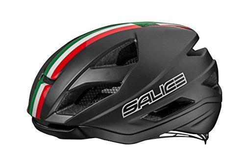 Salice Levante XS schwarz Ita Fahrradhelm Unisex Erwachsene, schwarz Italien