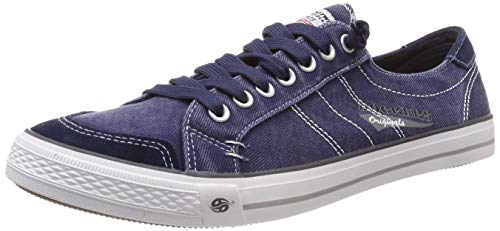 Dockers by Gerli Herren 30ST027 Sneaker - Blau (Navy 660) , 45 EU