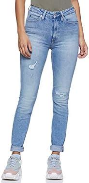 Calvin Klein Women's J20J207627-Blue Calvin Klein Skinny Jeans For Women -