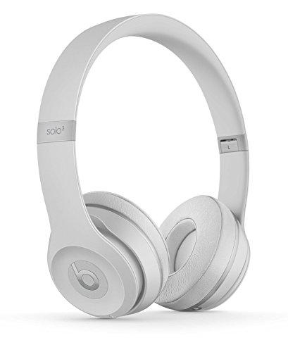 Beats by Dr. Dre Beats Solo3 Diadema Binaural Alámbrico/Inalámbrico Plata - Auriculares (Inalámbrico y alámbrico, Diadema, Binaural, Supraaural, 215 g, Plata)