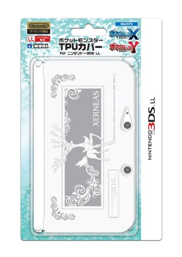 Hori Pokemon 3DS XL couverture de TPU Silicone Case XERNEAS protecteur clair XY