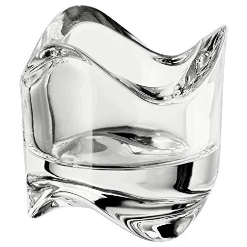 Ikea VASNAS602.590.96 - Portavela transparente, diámetro 6 cm- 1pieza