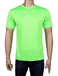Coole-Fun-T-Shirts Laufshirt Neon Floureszierend