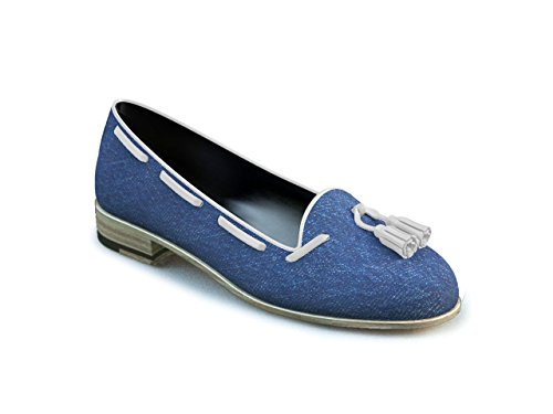 DIS - Giulietta - Mocassin À Gland - Femme Bleu