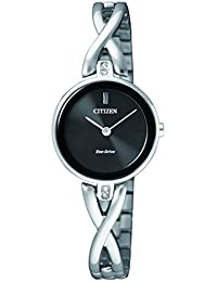Citizen Analog Black Dial Unisex Watch-EX1420-84E