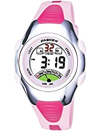Reloj de Pulsera para niños 30 m Impermeable Deportivo LED Alarma cronómetro Digital Reloj de Pulsera