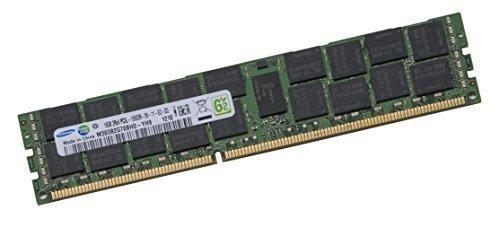 Samsung 16GB 2Rx4 ECC DDR3L LV Dual Rank 1333Mhz PC3L-10600R 240-polig DIMM für Dell/HP/Fujitsu/IBM Server + Apple Mac Pro