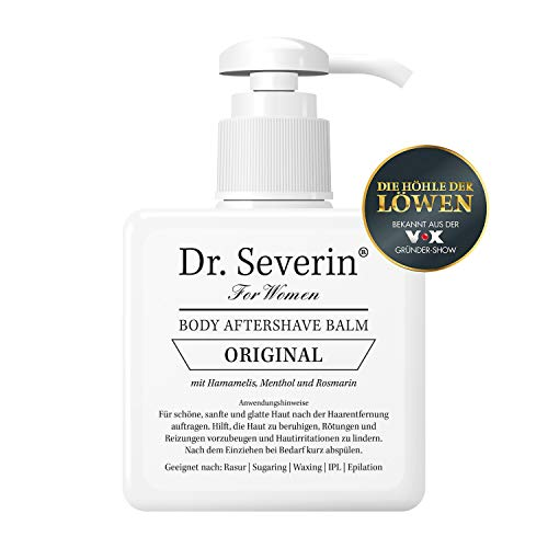 Dr. Severin, Women Original After Shave Balsam, Die Höhle der Löwen, 200 ml Pumpspender