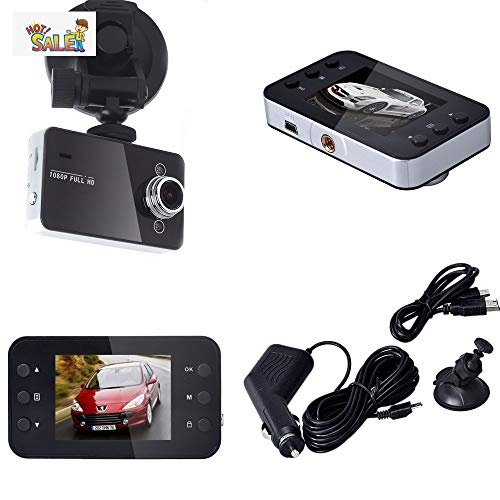 "Altsommer 2,7"" Autokamera Full HD 1080PI DVR mit 120° Weitwinkelobjektiv,Bewegungserkennun,Auto Kamera mit festem Fokus,Loop-Aufnahme, Infrarot-Nachtsicht, G-Sensor,32GB (A)"