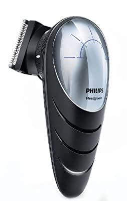 Philips Do-It-Yourself Hair Clipper with 180 Degree Rotating Head for Easy Reach - QC5570/13