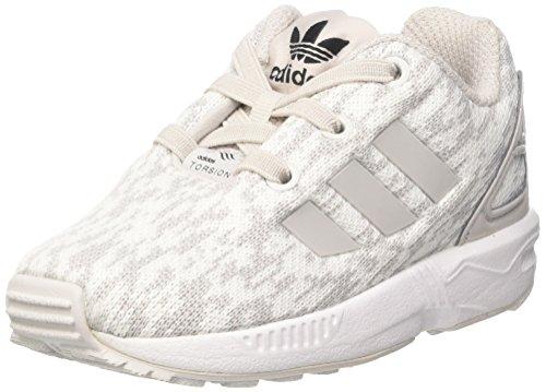 adidas Unisex Baby Zx Flux EL I Sneaker, Grau (Grey F17/grey One F17/ftwr White), 27 EU