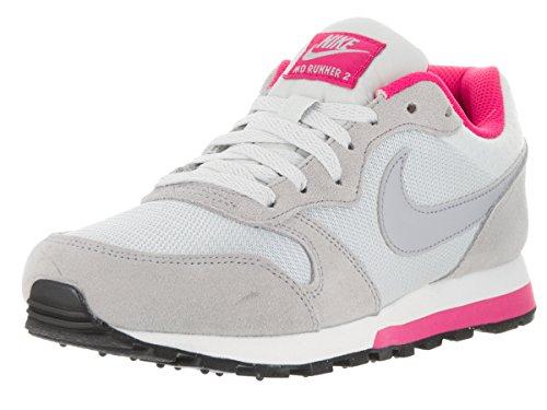Nike - 749869-007, Scarpe sportive Donna Grigio/Fucsia