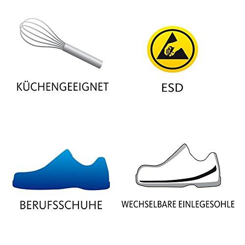 schürr Messieurs OP, Sandales Chaussures de Roding  Weiß